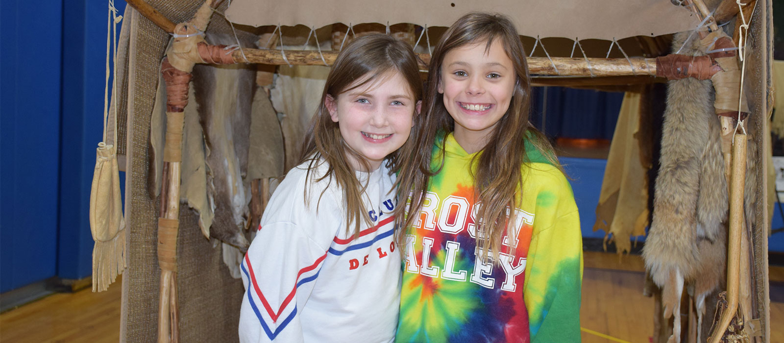 Accompsett Students Get Acquainted with Native American Ways photo