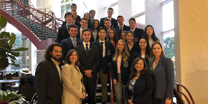 Smithtown Students Shine at DECA International photo