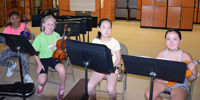 Student-Musicians Hone Skills During Summer Photo