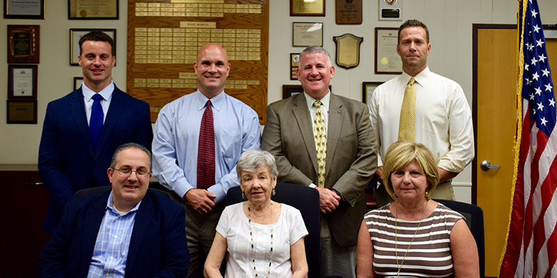 Board of Education Elects New Leaders Photo