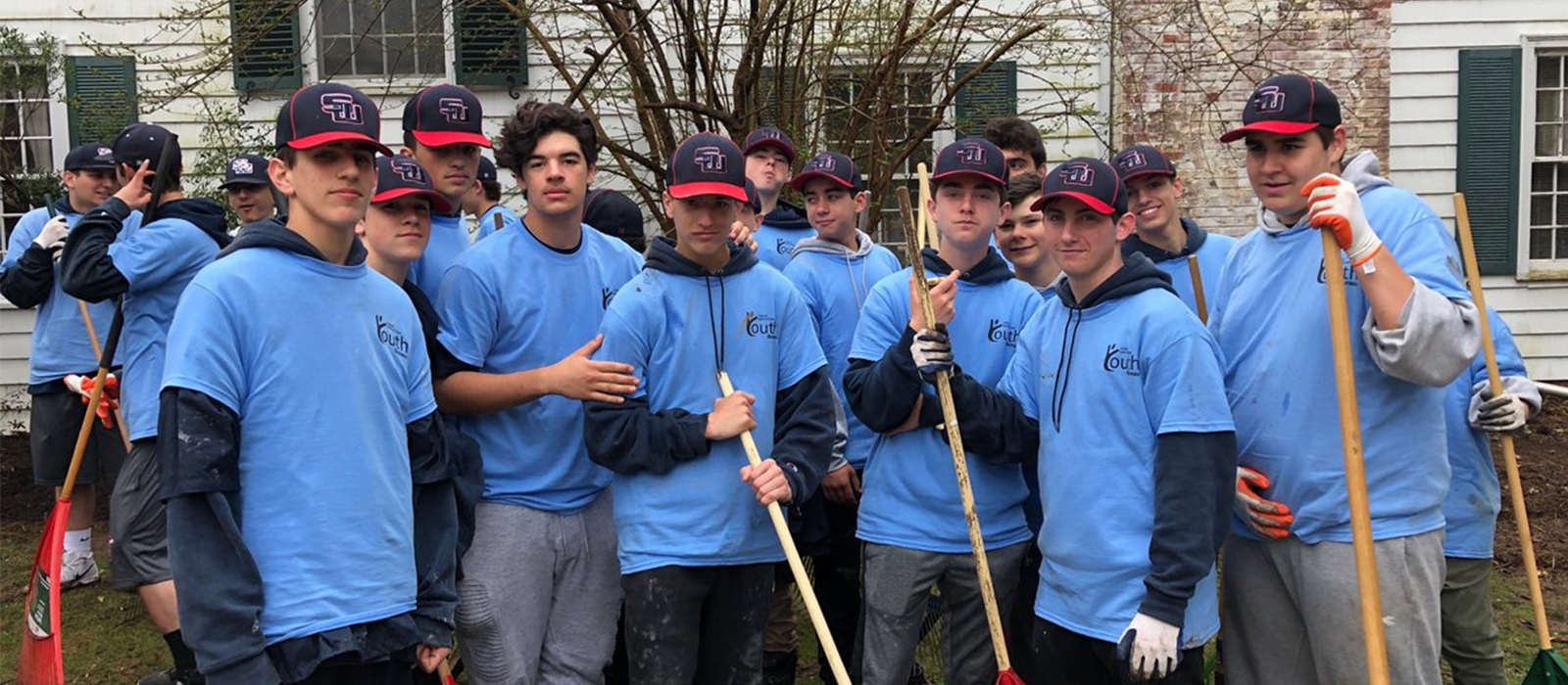 West Baseball Pitches in for Community photo