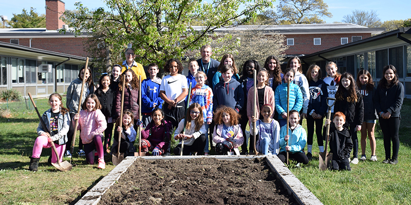 Young Gardeners Flourish at Mt. Pleasant photo