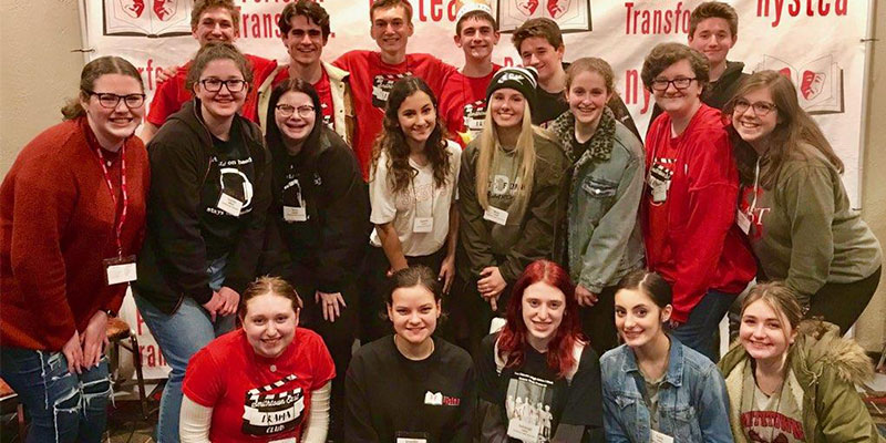 HS East Students Attend Theater Conference photo