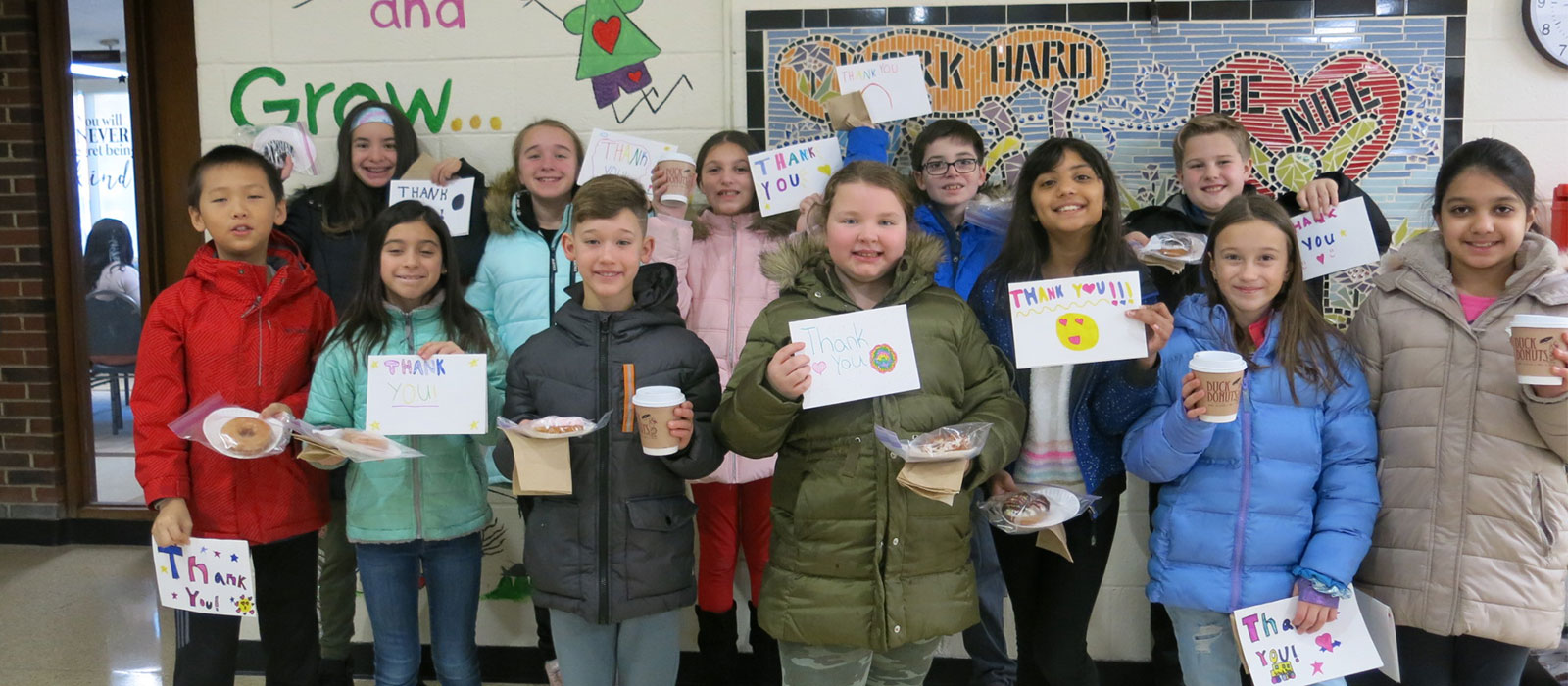 Tackan Students Show Their Appreciation photo