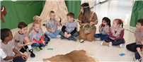 Dogwood First Graders Delve into Native American History  thumbnail143947