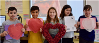 Accompsett Elementary Class Pens Valentine's for a Special Vet thumbnail164497