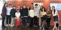 Great Hollow Students Show Off their Language Skills photo