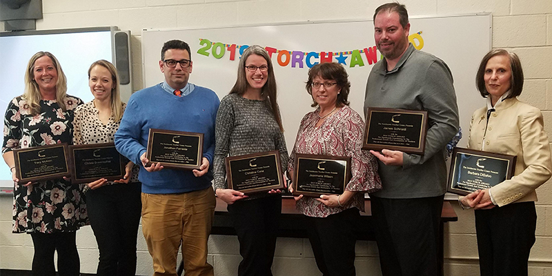 District Names Torch Award Winners