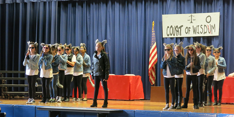 Tackan Fourth-Grade Shows their Musical Abilities photo